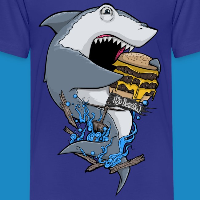 Kid's Hungry Shark Shirt