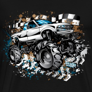 Mud Truck Race Shirt T-Shirts - Men's Premium T-Shirt