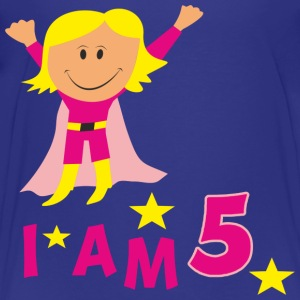 funny birthday 5 kid´s t-shirt - Kids' Premium T-Shirt
