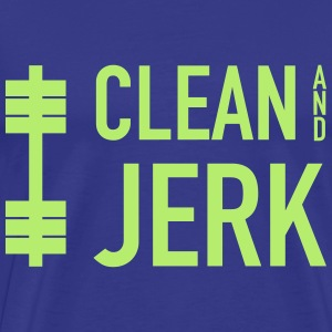 Clean And Jerk Workout T-Shirts - Men's Premium T-Shirt