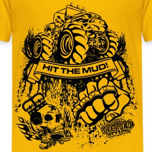 Mudding Jeep Shirt Kids' Shirts - Kids' Premium T-Shirt