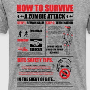 Zombie Survival - Men's Premium T-Shirt
