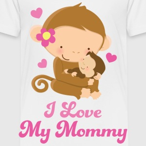I Love My Mommy Baby & Toddler Shirts - Toddler Premium T-Shirt
