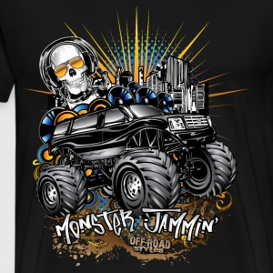 Monster Cadillac SUV T-Shirts - Men's Premium T-Shirt