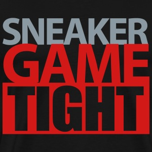 sneaker game tight 3 T-Shirts - Men's Premium T-Shirt