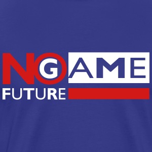 no game no future T-Shirts - Men's Premium T-Shirt