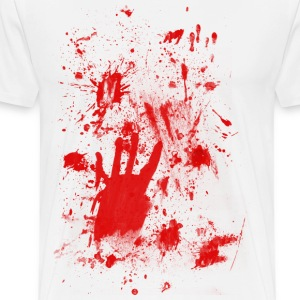 Splashes of blood / blood Smeared T-Shirts - Men's Premium T-Shirt
