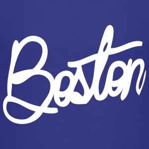 Boston Cursive Cute Apparel  Kids' Shirts - Kids' Premium T-Shirt