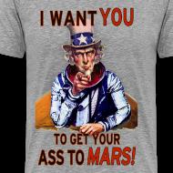 Design ~ Uncle Sam - Mars