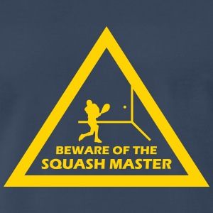 beware of the squash master T-Shirts - Men's Premium T-Shirt
