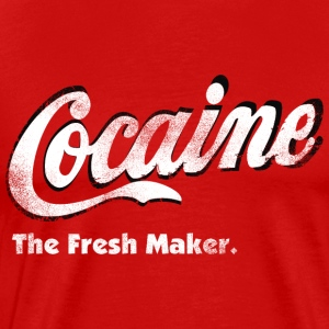 Cocaine The Fresh Maker - Men's Premium T-Shirt