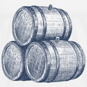 barrels of rum - Men's Premium T-Shirt