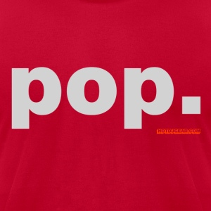 Pop Music - Men's T-Shirt by American Apparel