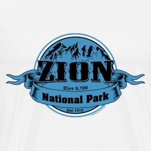 Zion National Park - Men's Premium T-Shirt