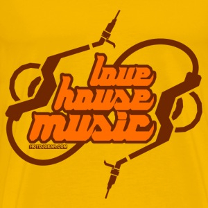 Love House Music - Men's Premium T-Shirt