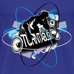 Turntablism - Men's Premium T-Shirt
