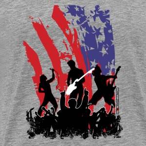 America Rocks - Men's Premium T-Shirt