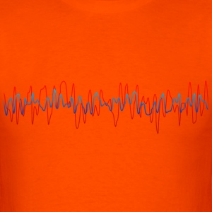 Speaker Waves - Men's T-Shirt