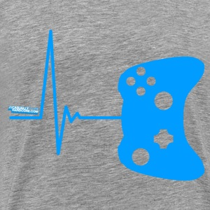 Heart Beat Gamer - Men's Premium T-Shirt