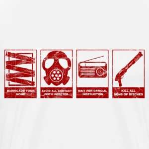 Zombie Emergency - Men's Premium T-Shirt