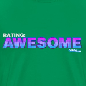 Rating: Awesome - Men's Premium T-Shirt