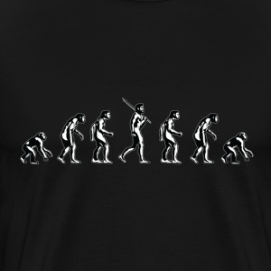 Backwards Evolution - Men's Premium T-Shirt
