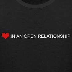 Black open relationship by wam T-Shirts