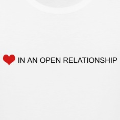 White open relationship by wam T-Shirts
