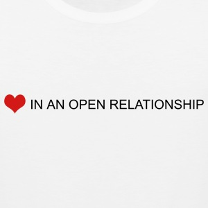 White open relationship by wam T-Shirts - Men's Premium Tank