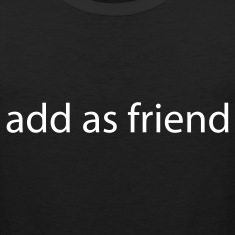 add as friend by wam T-shirts (manches courtes)