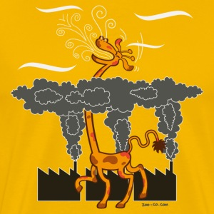 Gold Breath of Fresh Air T-Shirts - Men's Premium T-Shirt