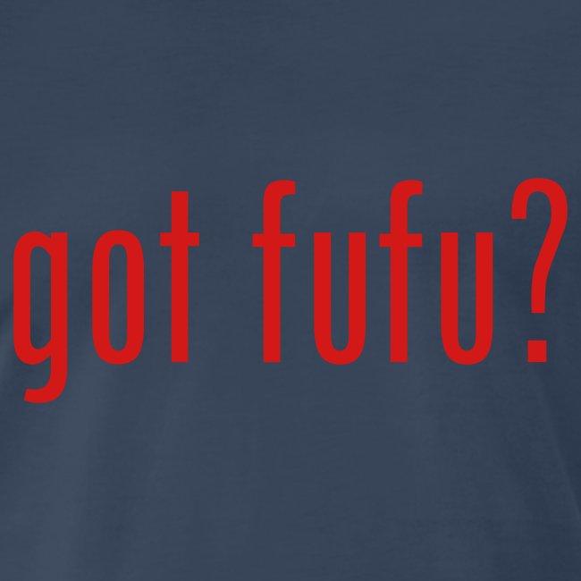 got fufu Men's 3XL - Navy / Red