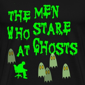 Black The Men Who Stare At Ghosts Goats T-Shirts - Men's Premium T-Shirt