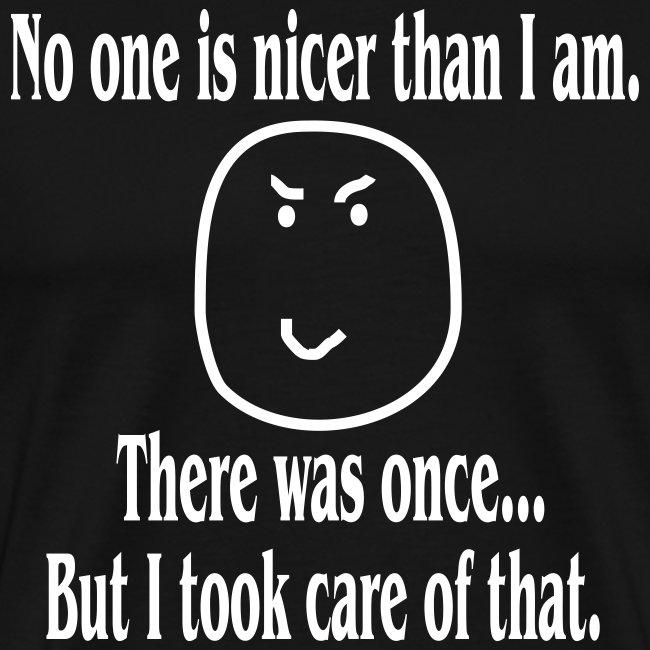 HELLRAISER - Nicer than I am Men's T-Shirt