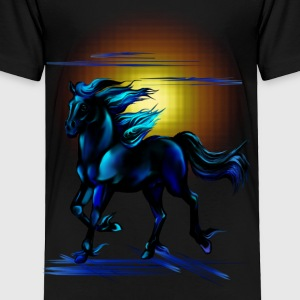 Black Horse - Toddler Premium T-Shirt