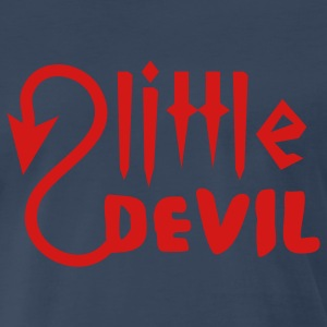 Navy little devil T-Shirts - Men's Premium T-Shirt