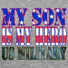 Ash  MY SON IS MY HERO US MILITARY T-Shirts