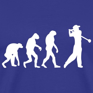 Royal blue golf golfer T-Shirts - Men's Premium T-Shirt