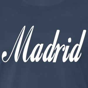 Navy madrid T-Shirts - Men's Premium T-Shirt