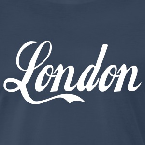 Navy london T-Shirts - Men's Premium T-Shirt