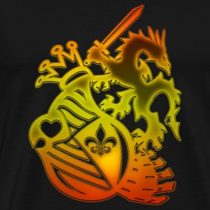 Dragon_Knight - Men's Premium T-Shirt