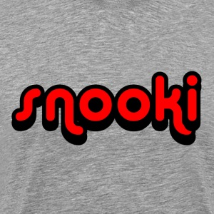 Heather grey Snooki T-Shirts - Men's Premium T-Shirt