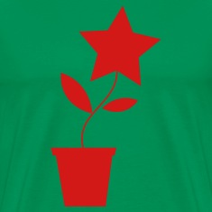 Forest green star flower pot plant cute etsy inspired T-Shirts