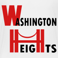Design ~ KKT 'Washington Heights With Bridge' Toddler Tee, White