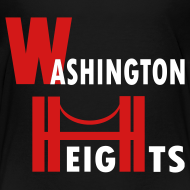 Design ~ KKT 'Washington Heights With Bridge' Toddler Tee, Black