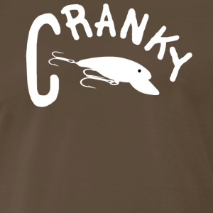 Chocolate CRANKY T-Shirts - Men's Premium T-Shirt