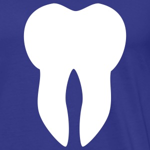 Royal blue Tooth T-Shirts - Men's Premium T-Shirt