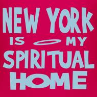 Design ~ KKT 'New York, Spiritual Home' Kids' Tee, Azalea