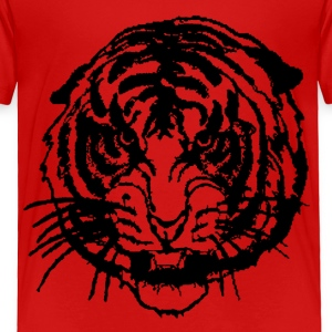 Red tiger Toddler Shirts - Toddler Premium T-Shirt