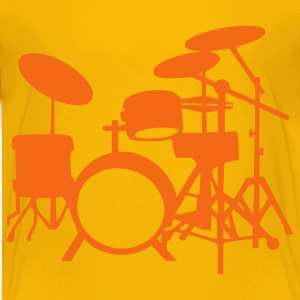 Yellow Drums Kids' Shirts - Kids' Premium T-Shirt